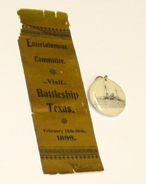 USS Texas-badge and pin