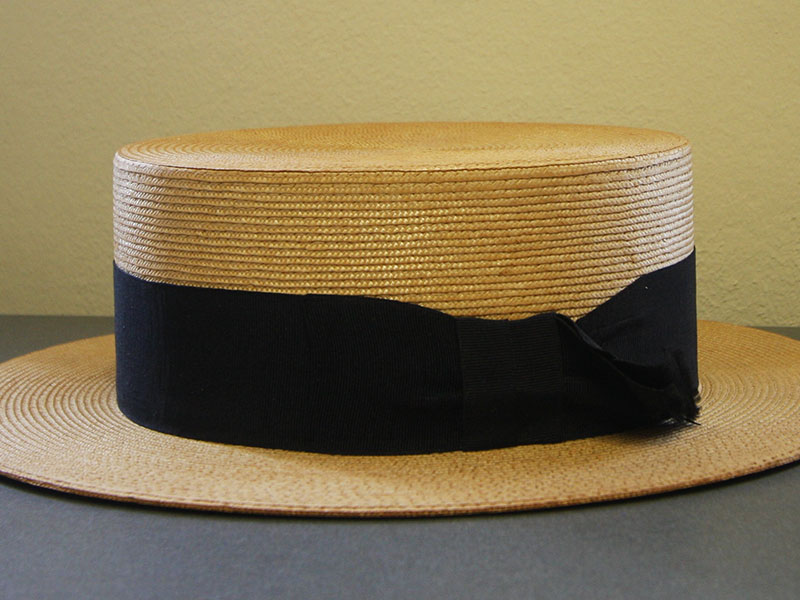 Boater Hat from Baxter & Wilson in Galveston