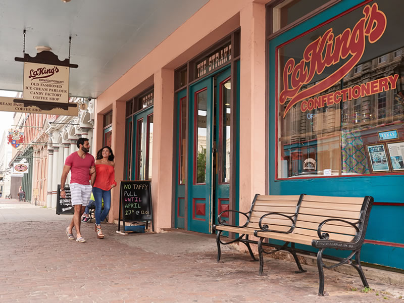 La King's Strand storefront
