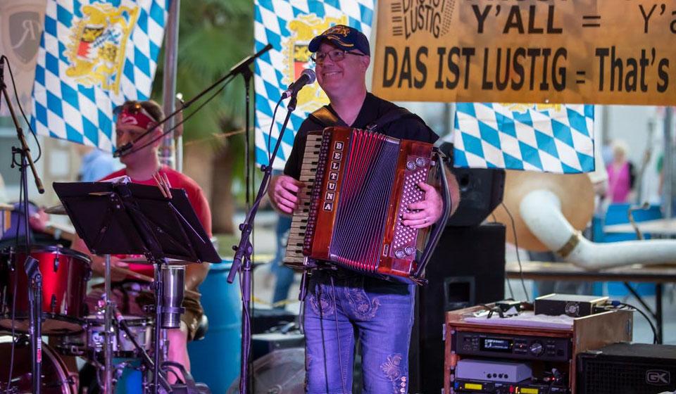 Live Music at Island Oktoberfest