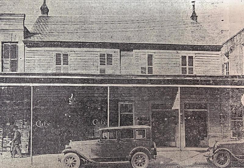 Illies Building circa 1929