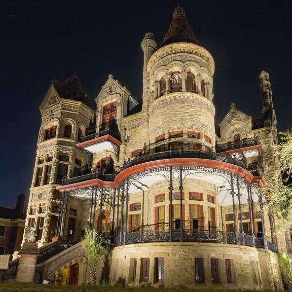 Bishop's Palace Exterior, Galveston TX