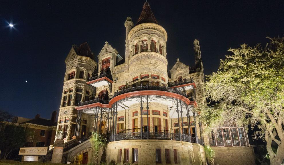 Bishop's Palace Exterior, Galveston, TX