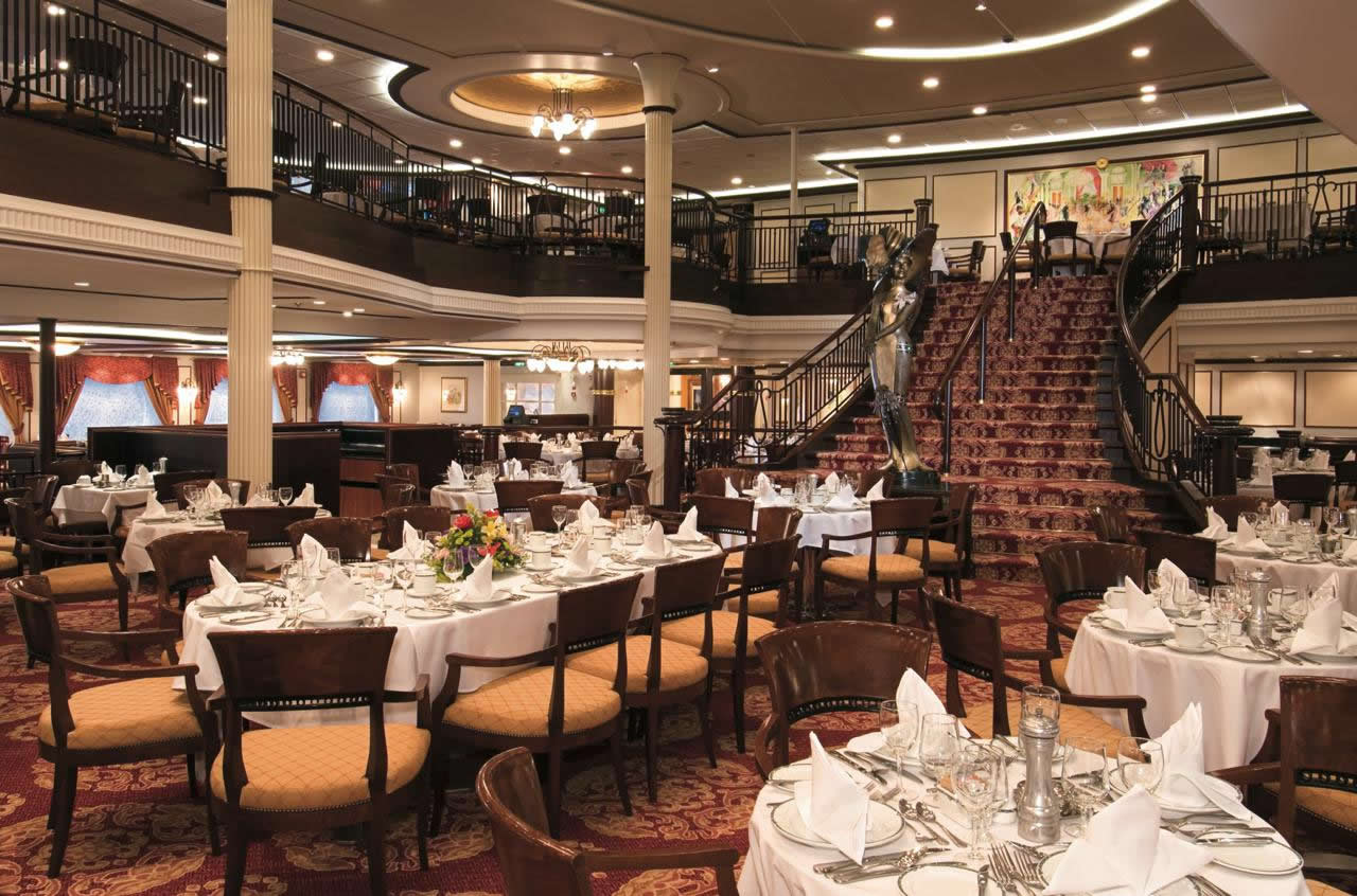 Enchantment of the Seas Main Dining Room