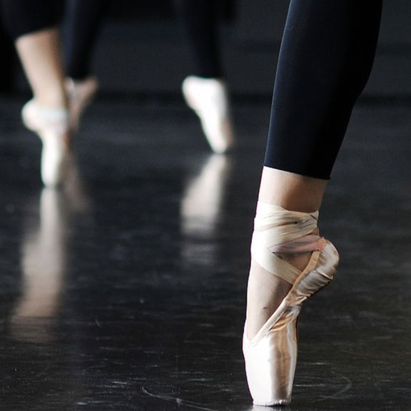 Dancers from Galveston Ballet, Galveston TX