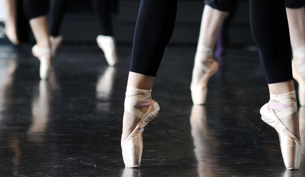Dancers at Galveston Ballet, Galveston, TX