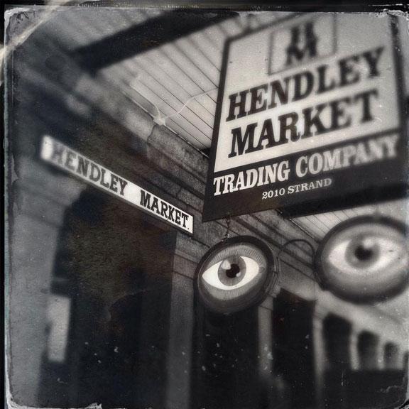 Exterior View of Hendley Market, Galveston TX