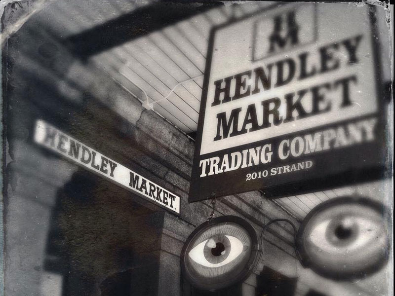 Exterior View of Hendley Market