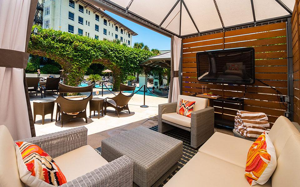 Hotel Galvez Cabana