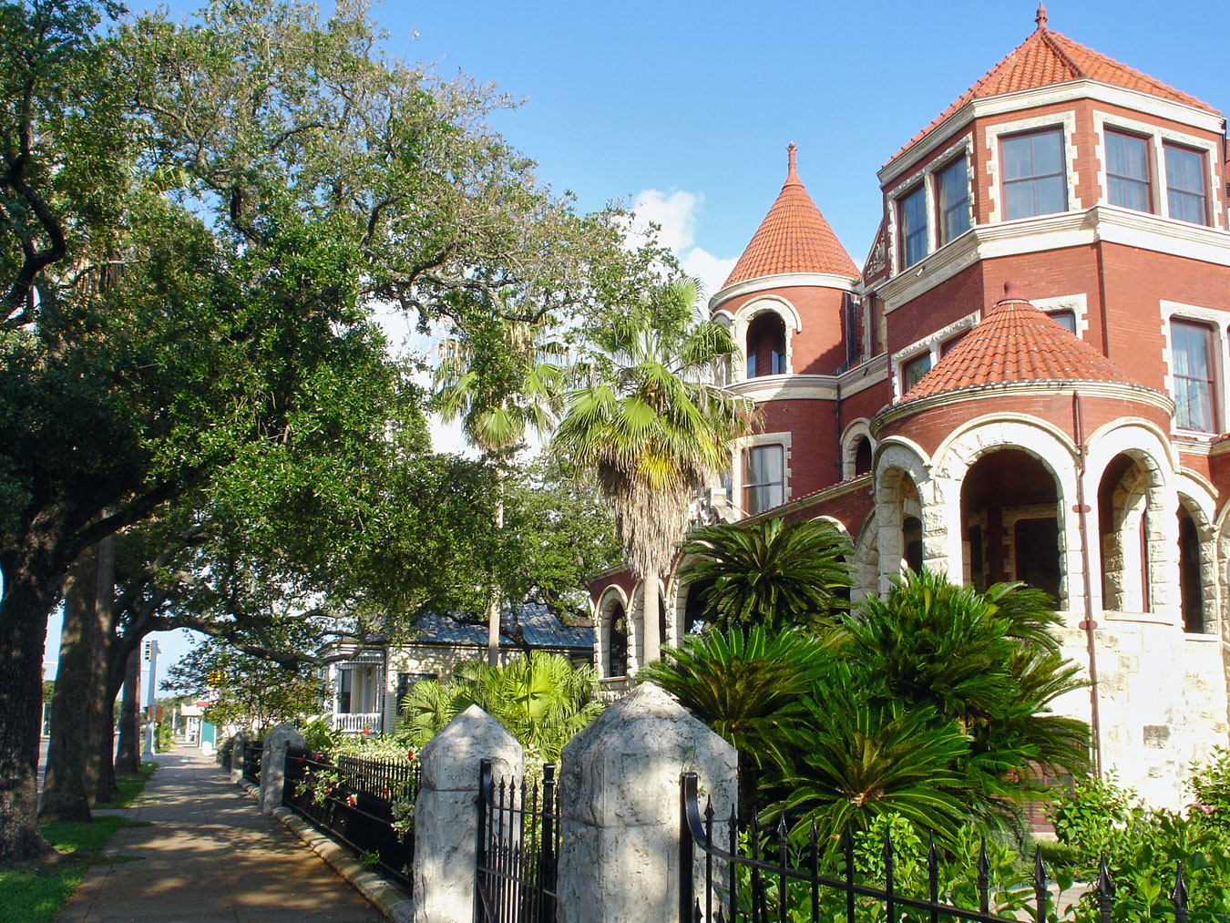 Exterior View of 1895 Moody Mansion