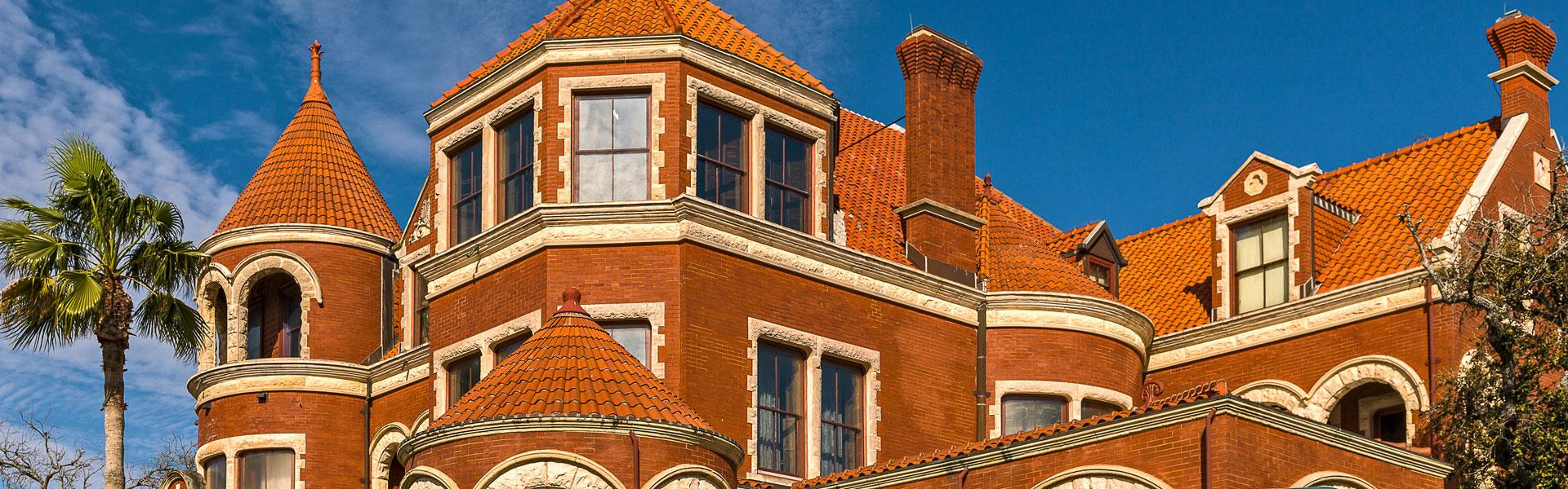 Exterior View of 1895 Moody Mansion, Galveston, TX