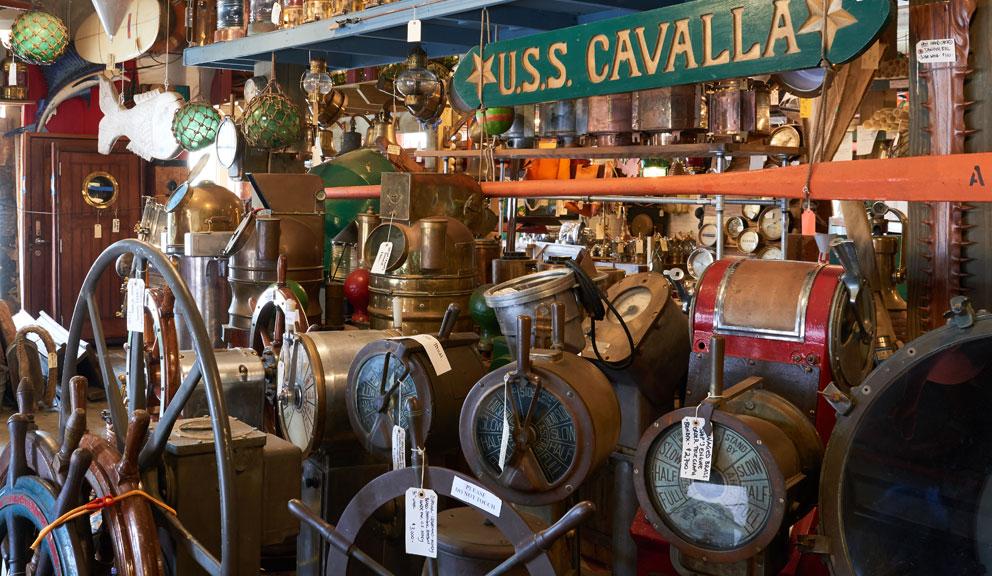 Interior View of Nautical Antiques & Tropical Decor, Galveston TX