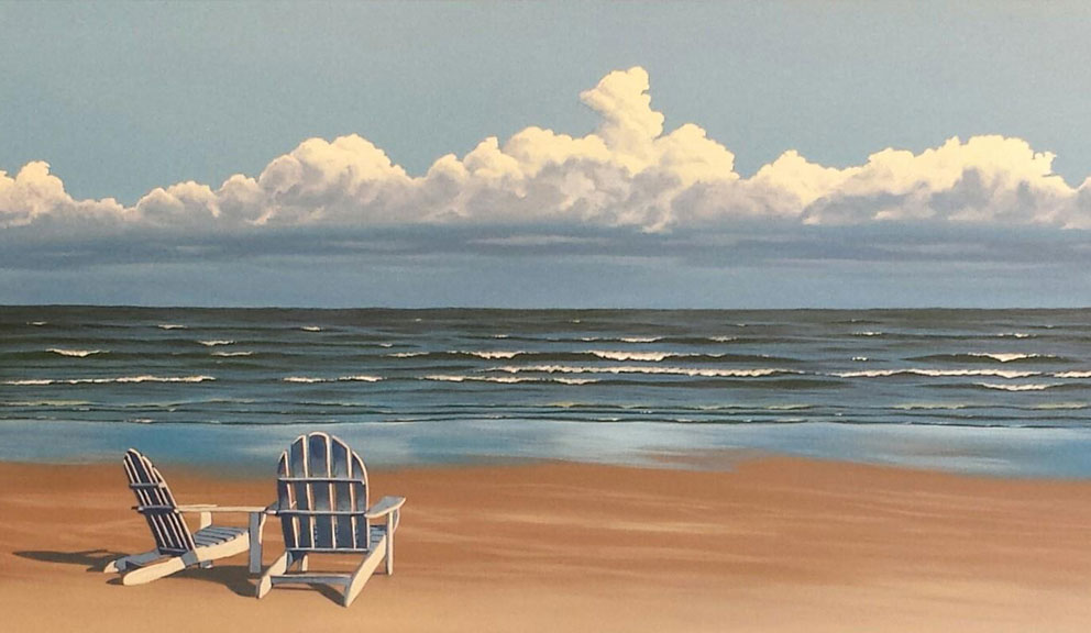 Vacation on Canvas, Galveston TX