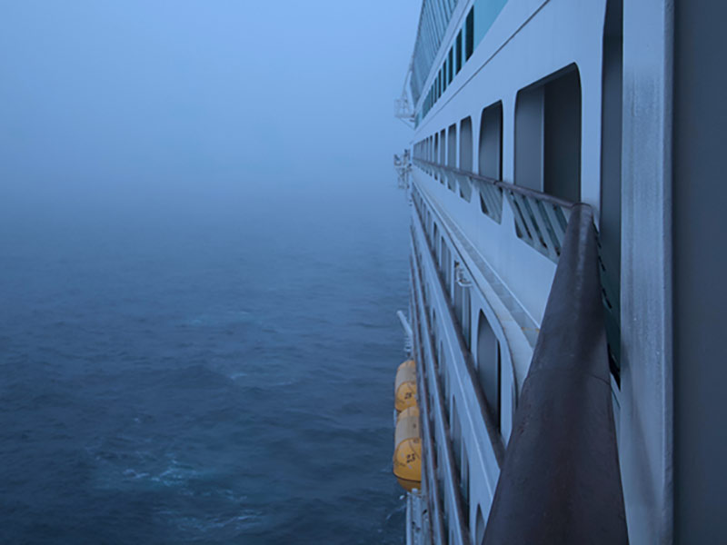Royal Caribbean Fog