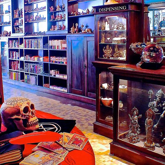 Interior View of The Witchery, Galveston TX
