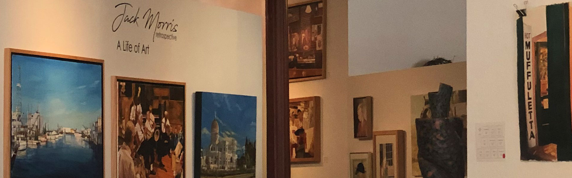 Interior of Third Coast Gallery, Galveston TX
