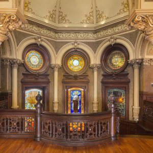 Interior View of 1892 Bishop's Palace, courtesy Illumine Photographic Services