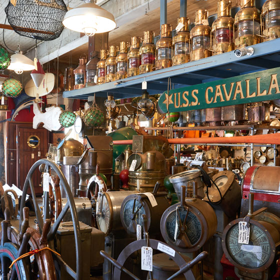 Antiques Store in Downtown Galveston