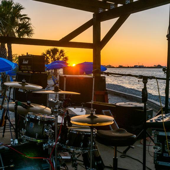 Palm Beach at Moody Gardens, Galveston, TX