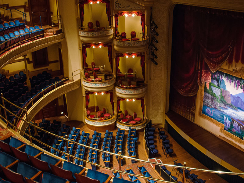 Interior View of The Grand 1894 Opera House
