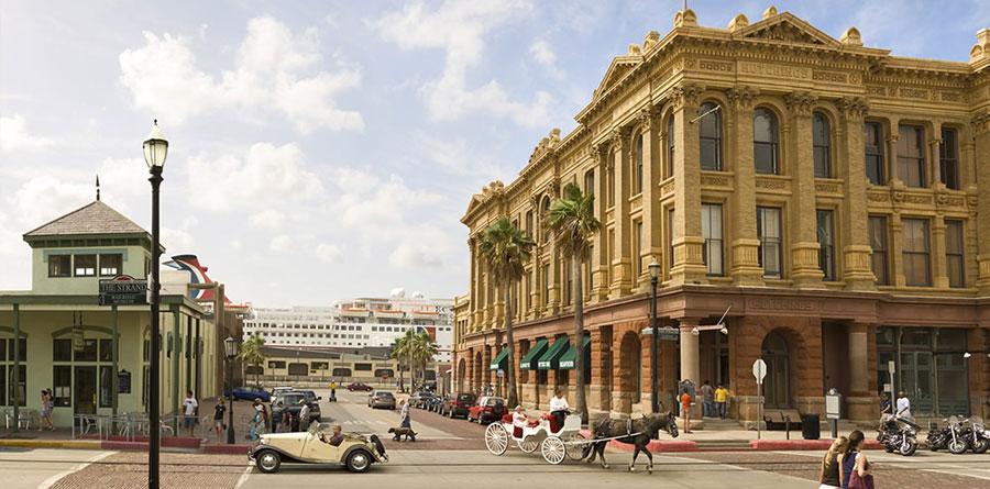 Downtown Galveston