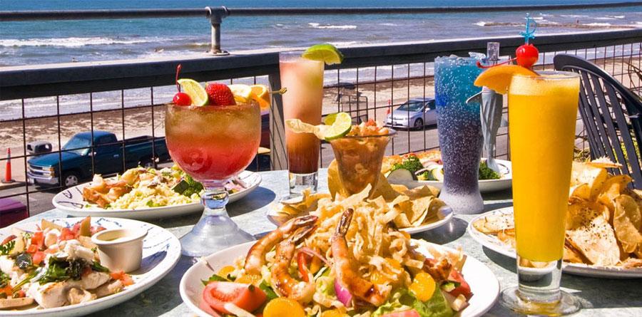 Dining Near the Water on Galveston Island