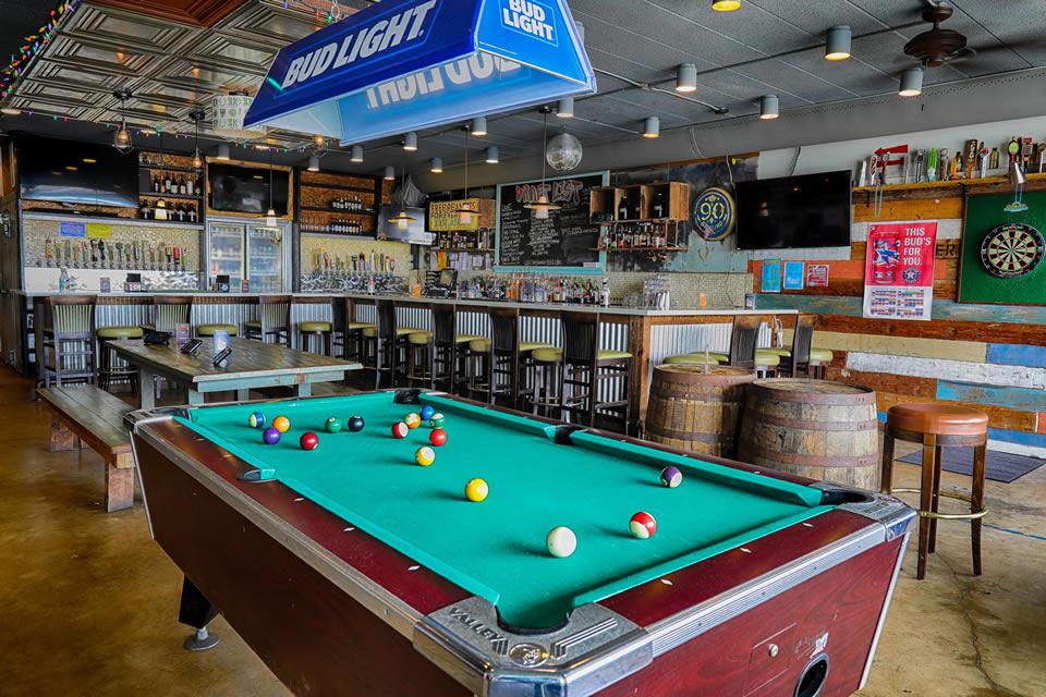 Beerfoot Pool Table