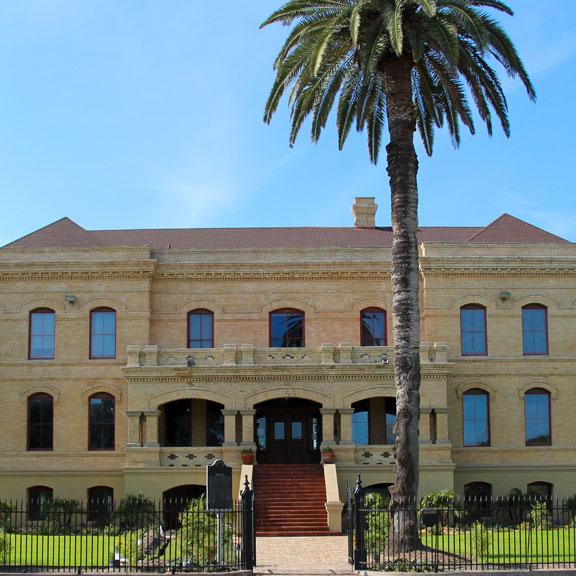 Bryan Museum Museum Exterior, Galveston TX