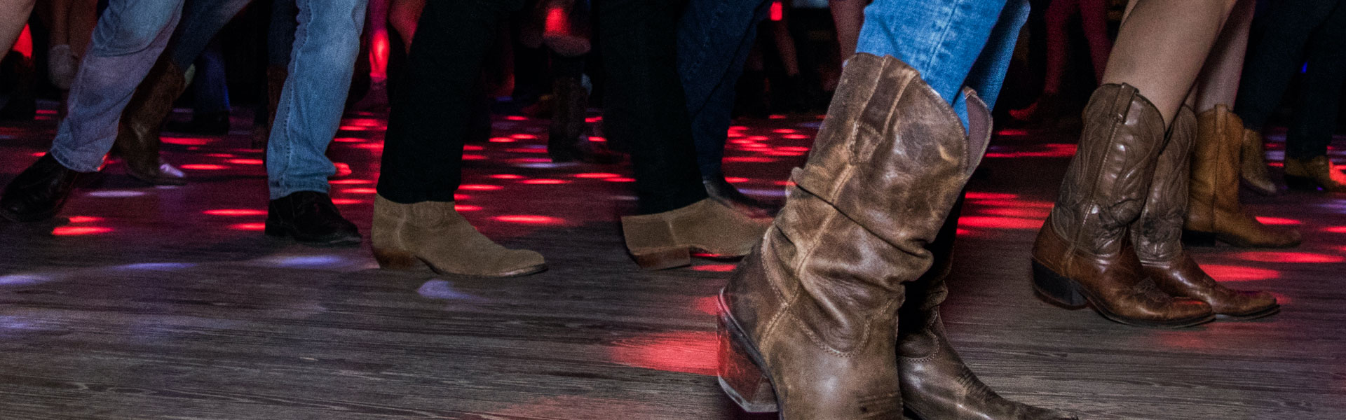 Country Dancing on a Dancefloor, Galveston TX