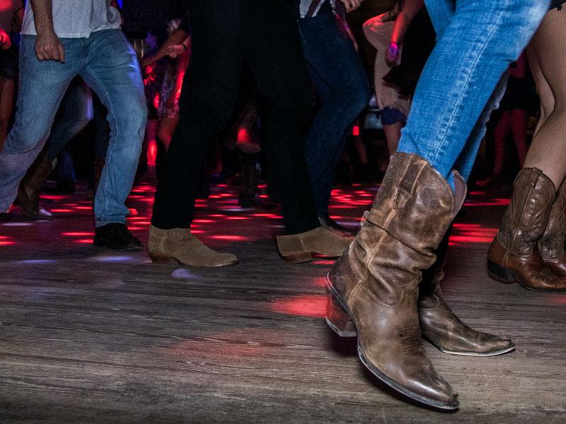 Country Dancing on a Dancefloor