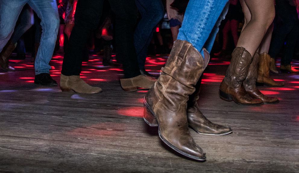 Country Dancing on a Dancefloor, Galveston