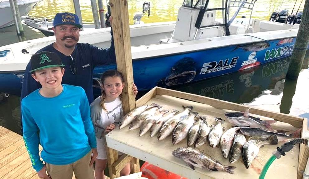 Circle H Family Fishing, Galveston Tx
