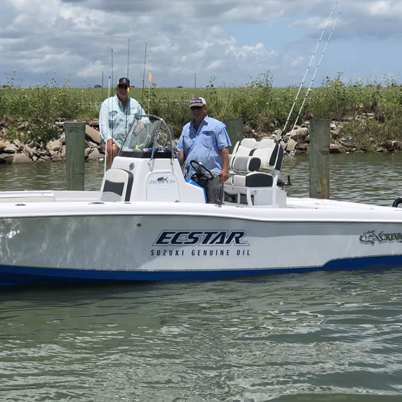 Fraziers Fishing Guide Service, Galveston TX