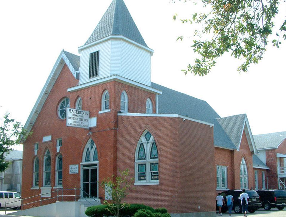 Macedonia Missionary Baptist Church, Galveston, TX