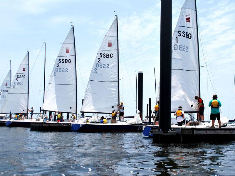 Learning How to Sail at Sea Star Base