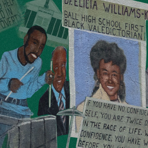 Collage of African American Heritage of Galveston Island, Galveston, TX