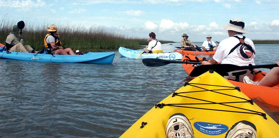 Artist Boat Kayak Adventures, Galveston, TX