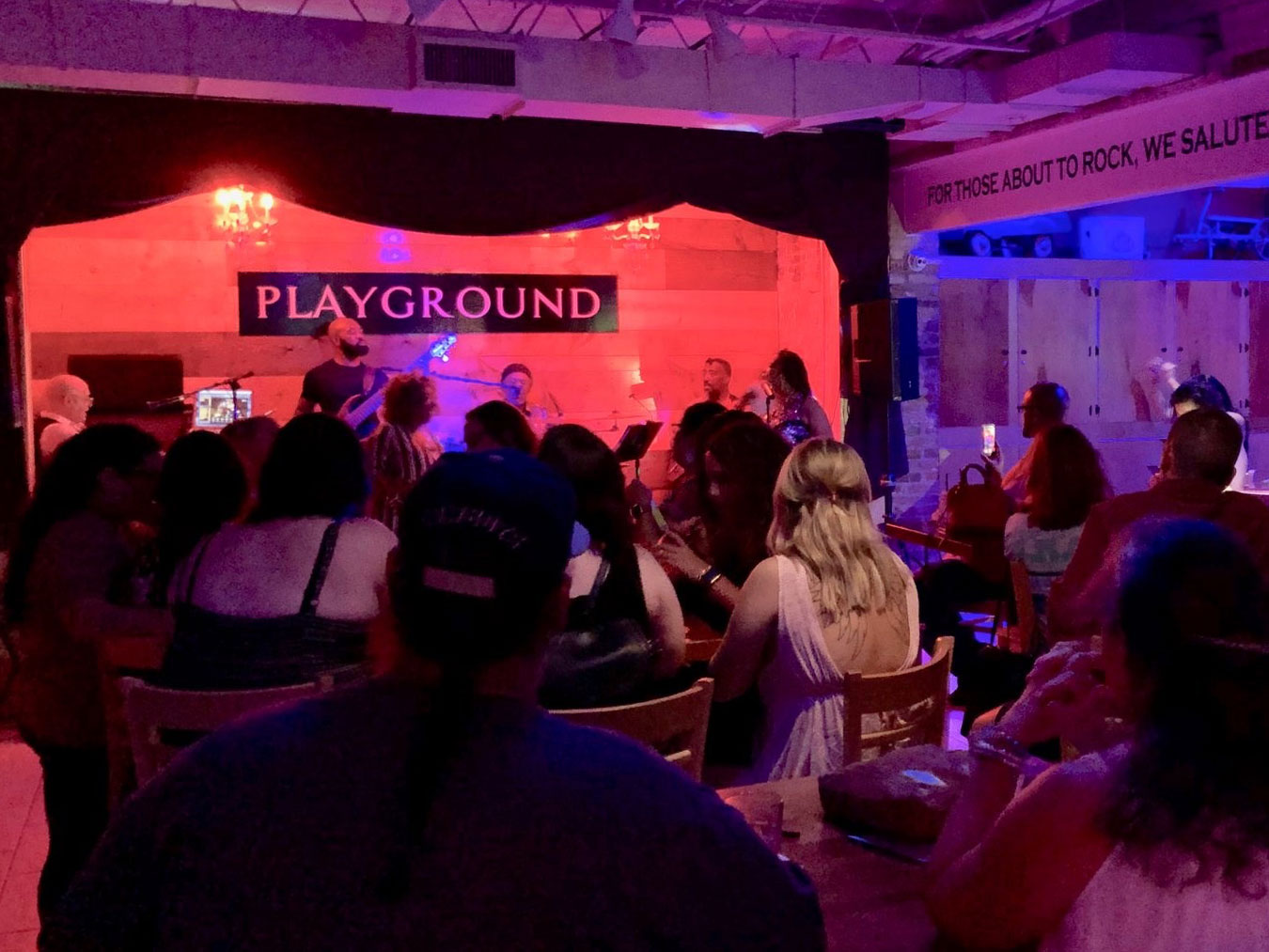 Live Music at Playground Patio Bar & Grill