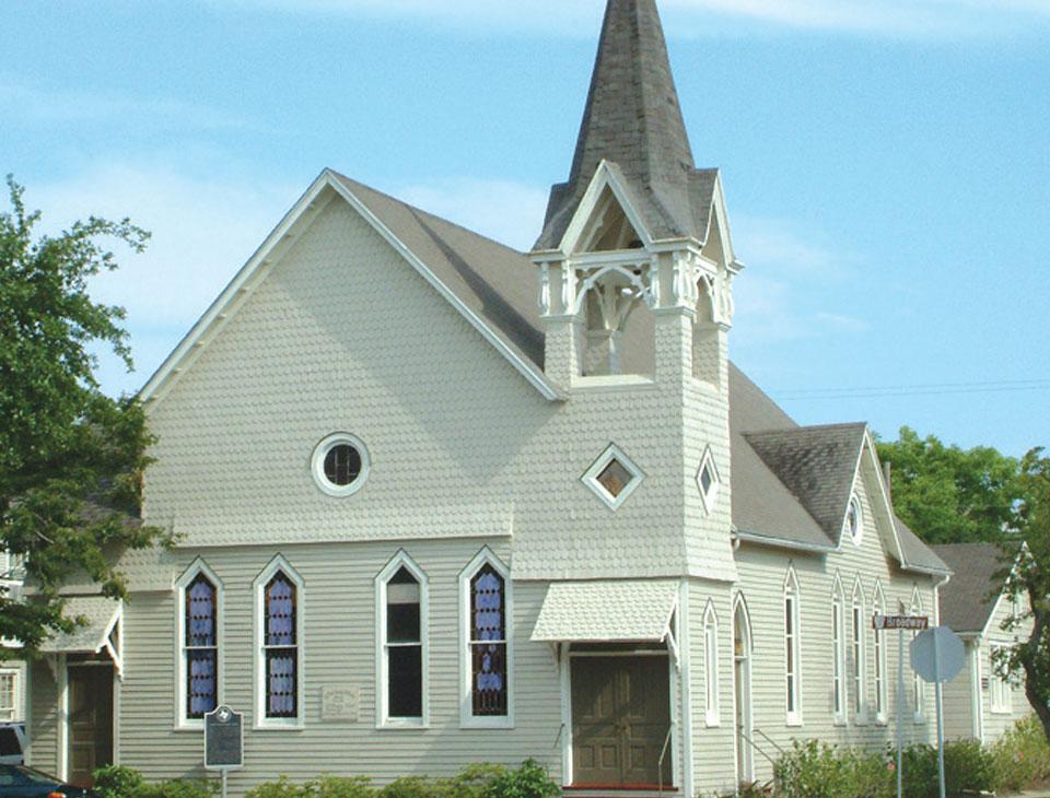 Saint Paul United Methodist Church, Galveston, TX