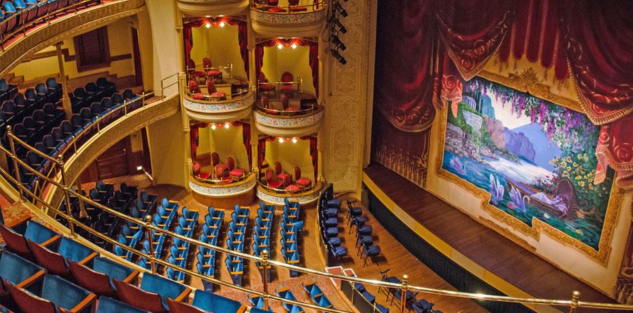 Interior of The Grand 1894 Opera House