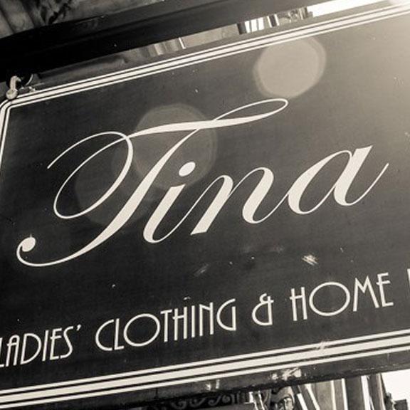 Exterior View of Tina's on The Strand, Galveston TX