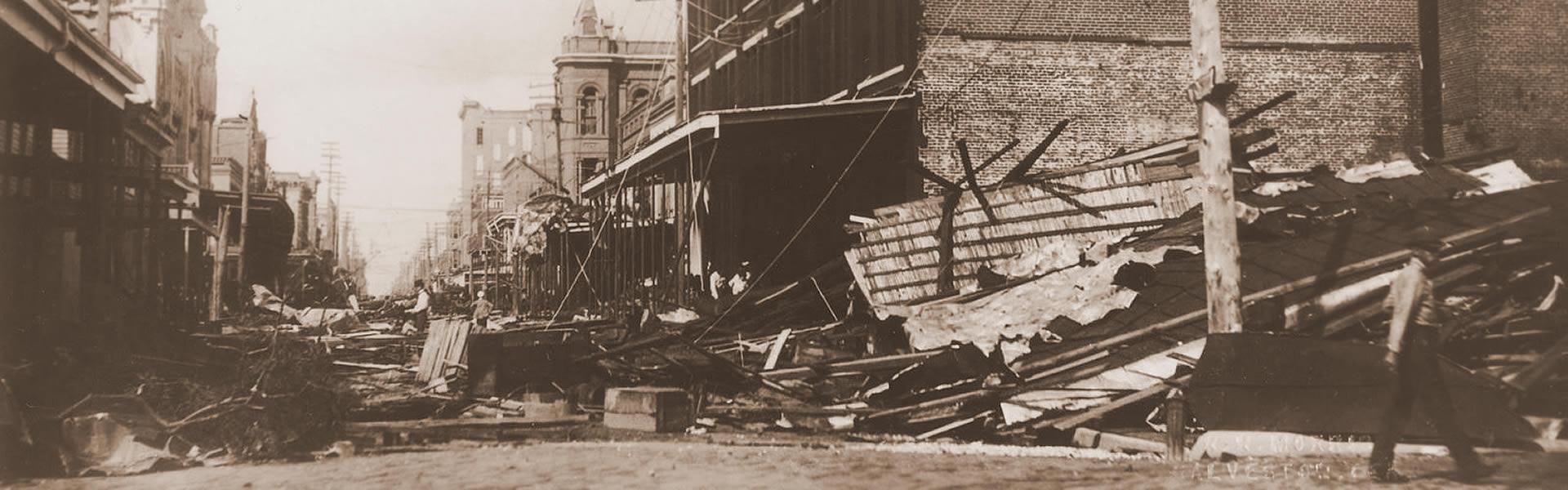 1900 Storm on Strand Damage