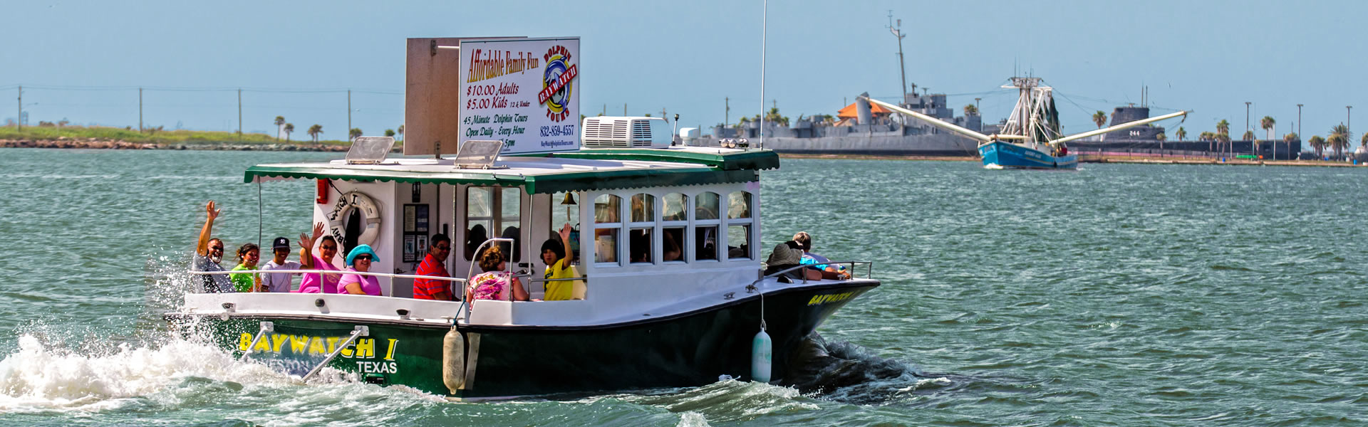 Baywatch Dolphin Tours Galveston