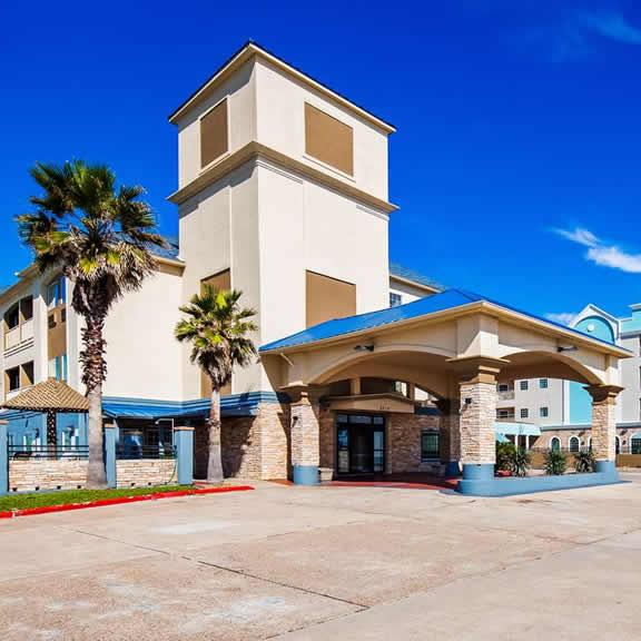 Best Western Galveston West Beach Hotel