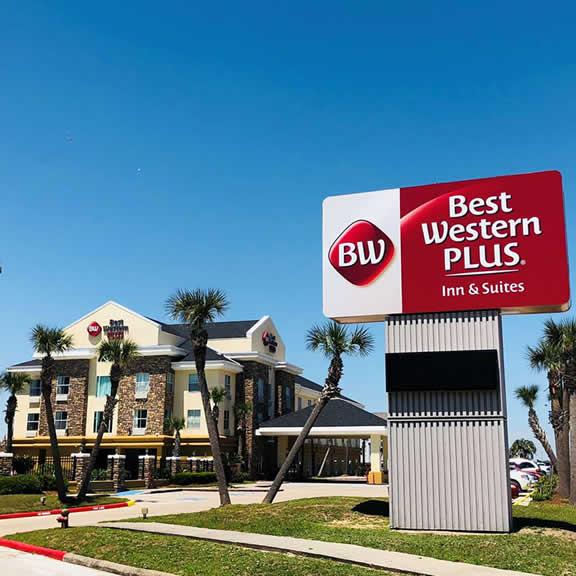 Best Western Plus 102 Seawall Blvd, Galveston