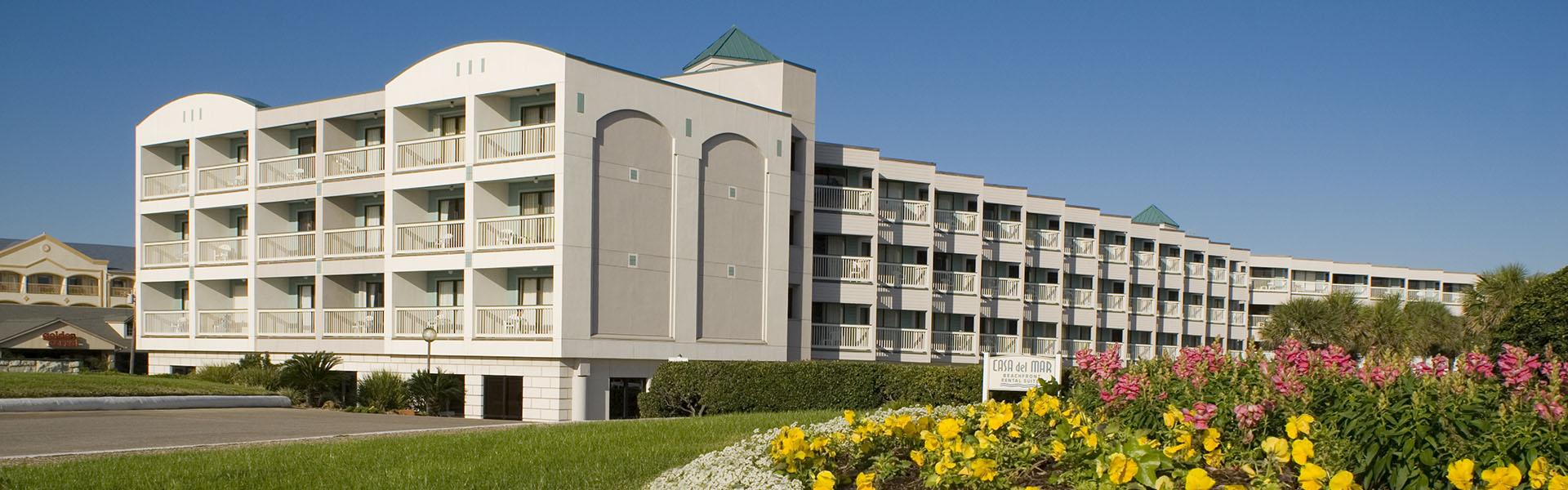 Casa Del Mar Beachfront Suites, Galveston TX