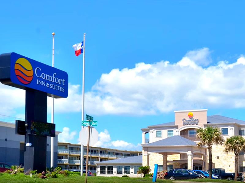 Comfort Inn Beachfront Galveston