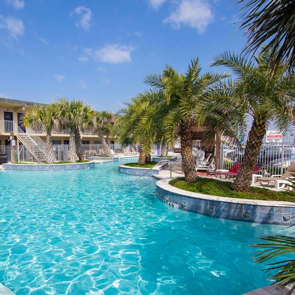 Gaido's Seaside Inn Beachfront Galveston