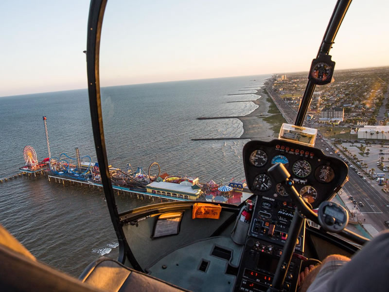 GALVESTON.COM: Galveston Helicopter Tours - Galveston, TX