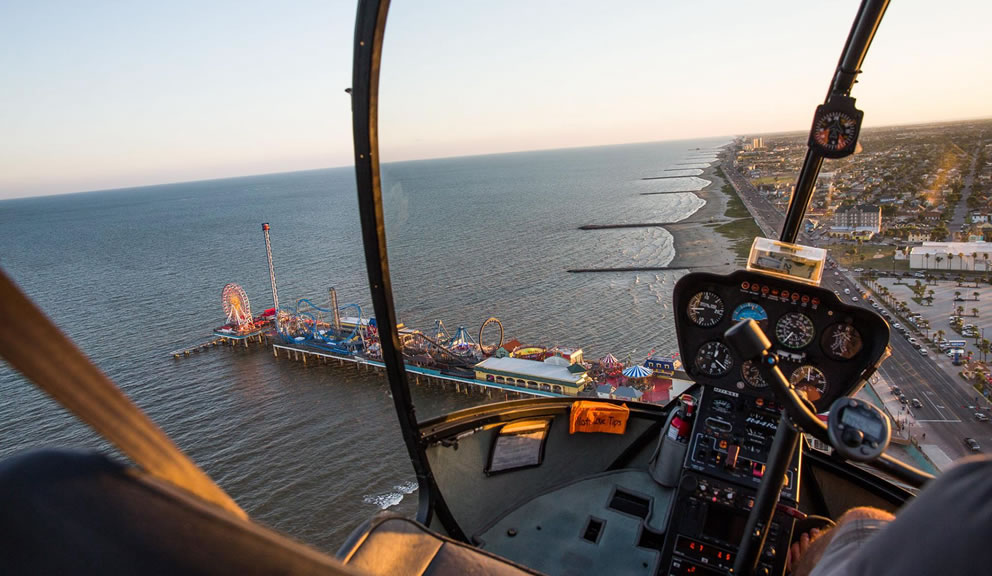 Galveston Helicopter Tours